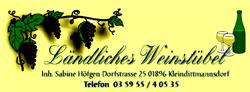 Ländliches Weinstübel Kleindittmannsdorf